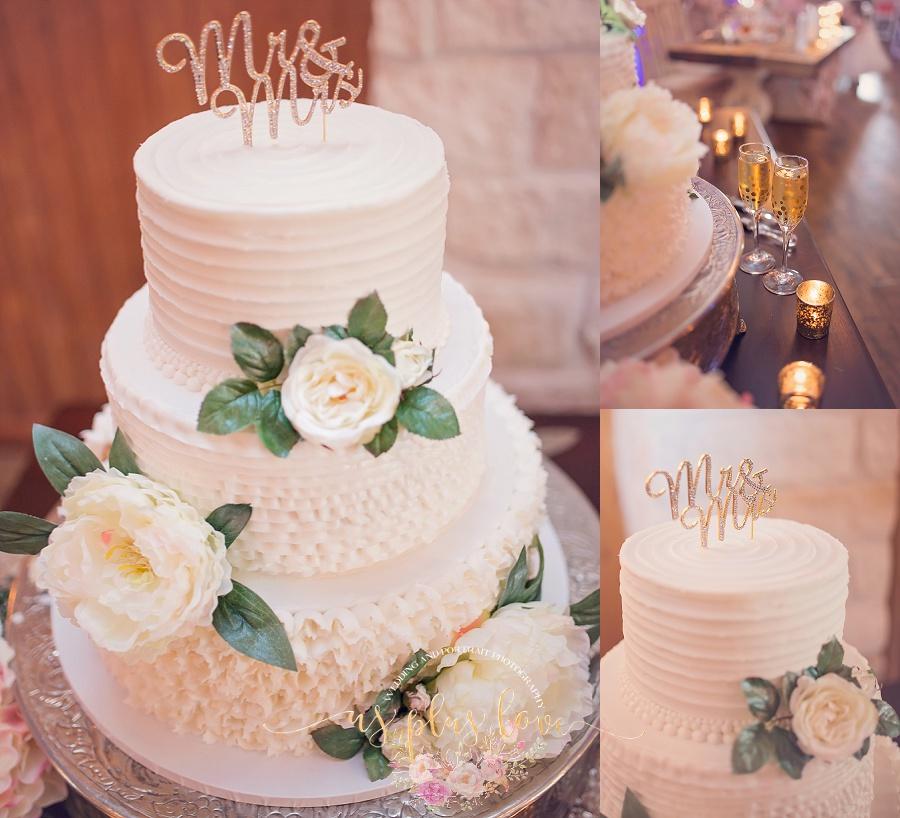 buttercream-wedding-cake-flowers-floral-simple-cake-topper-bling-glasses-champaigne-wedding-photos-ashelynn-manor.jpg