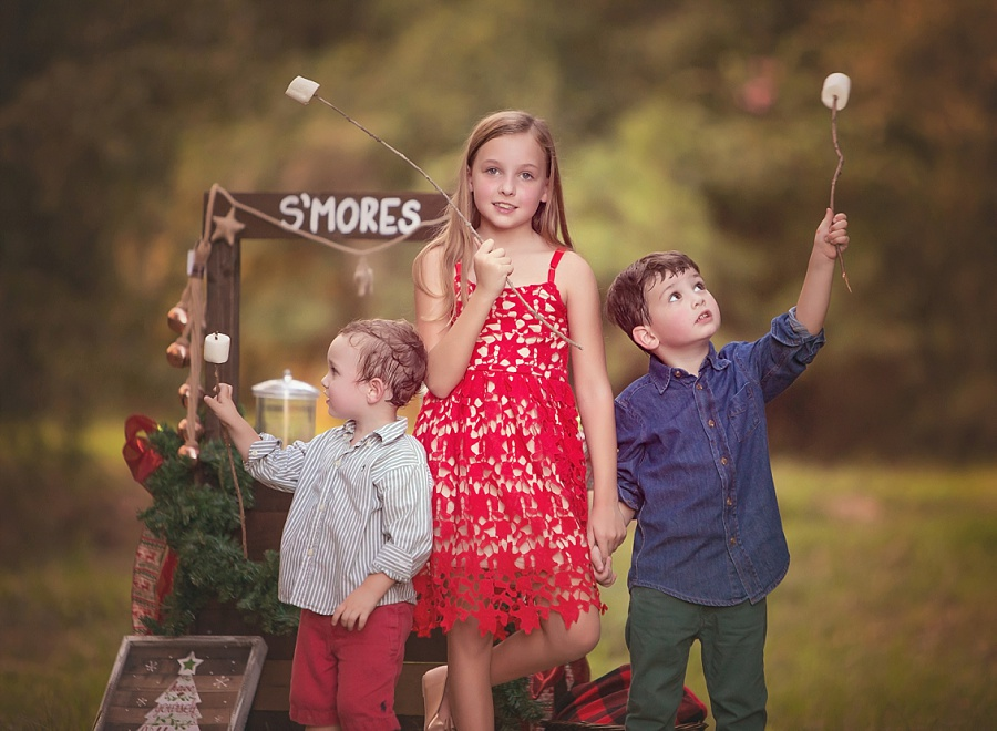 family-photos-photography-houston-woodlands-smores-brothers-sister-mini.jpg