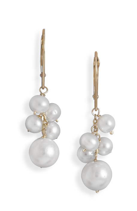 Fun freshwater pearl earrings
