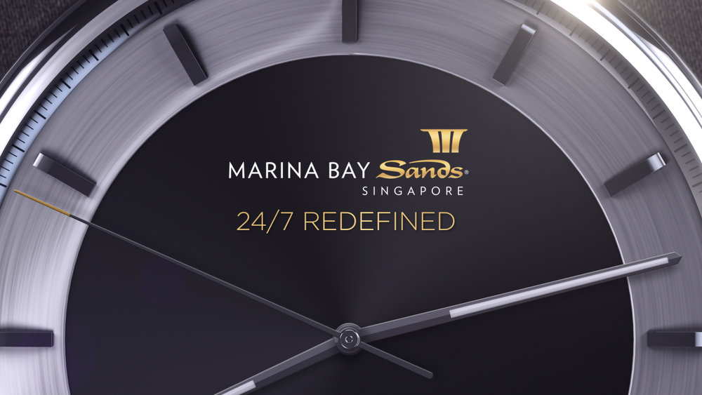 MARINA BAY SANDS: 24/7 REDEFINED