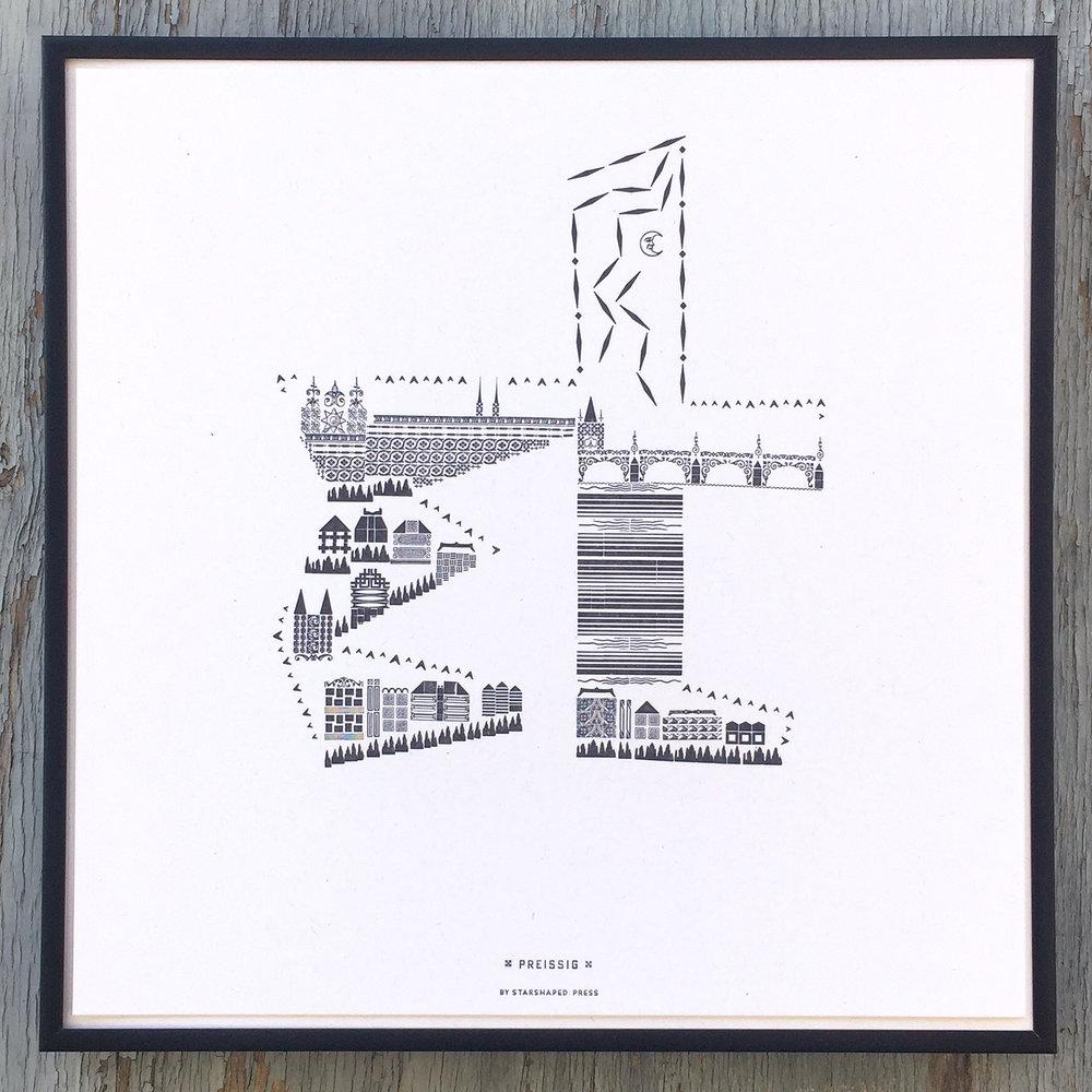 Ampersand by Vojtech Preissig, representing Prague