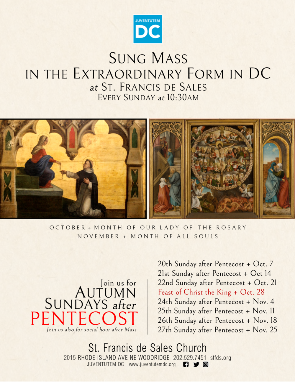 2018 09 Autumn Sundays after Pentecost v2 London.png