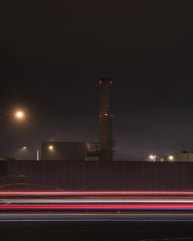 Encina Power Station (Light Streak Variation IV)