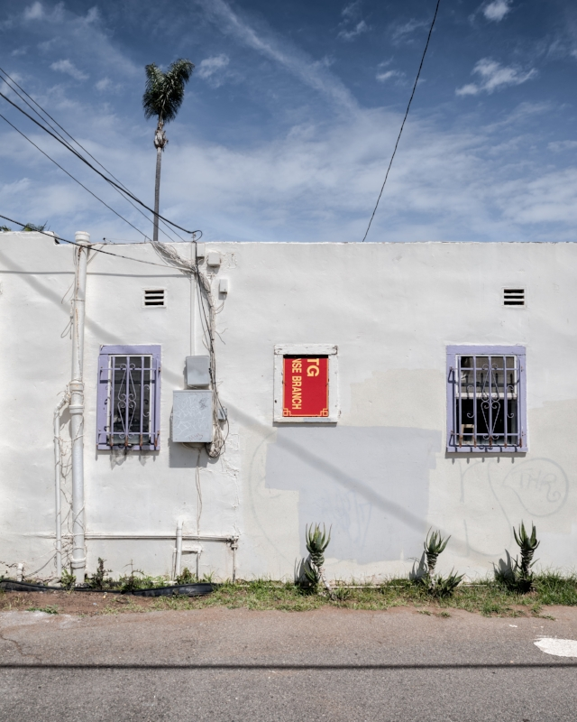 Red Window Cover, 101 Back Alley