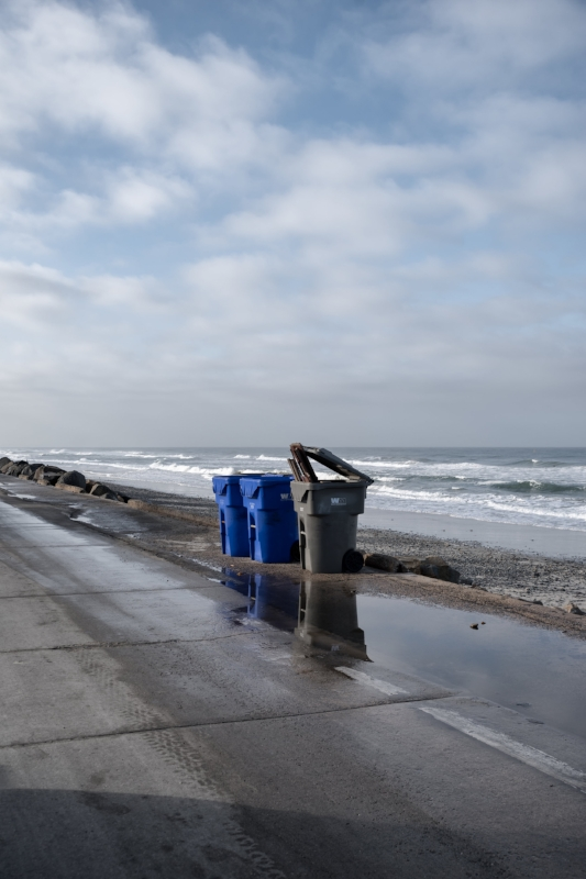 Pacific Trashday, South The Strand