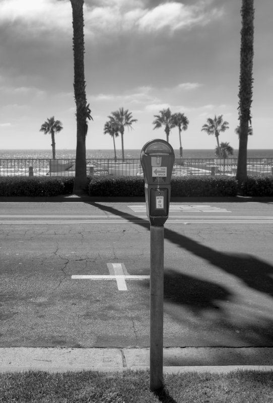 Parking Meter On Pacific