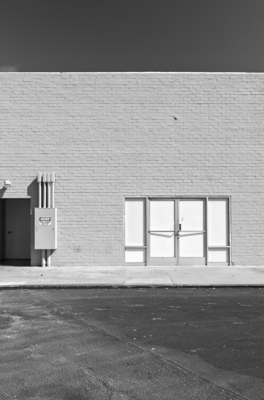 Lonely Doors B-W.jpg