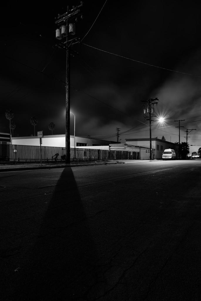 Nocturnal Emissions: RV On Freeman Street