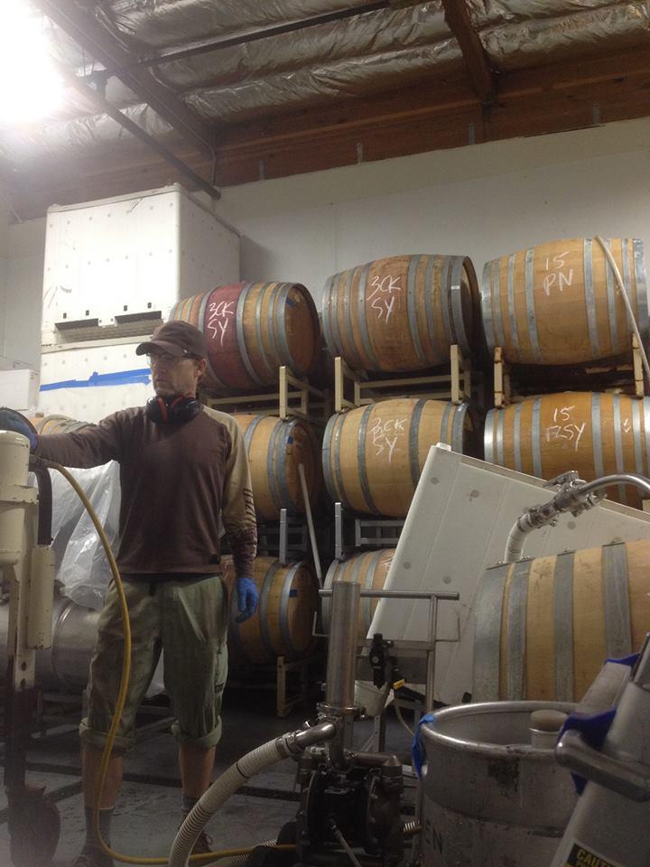 Scott Sisemore Waxwing Wine Cellars cellar.jpg