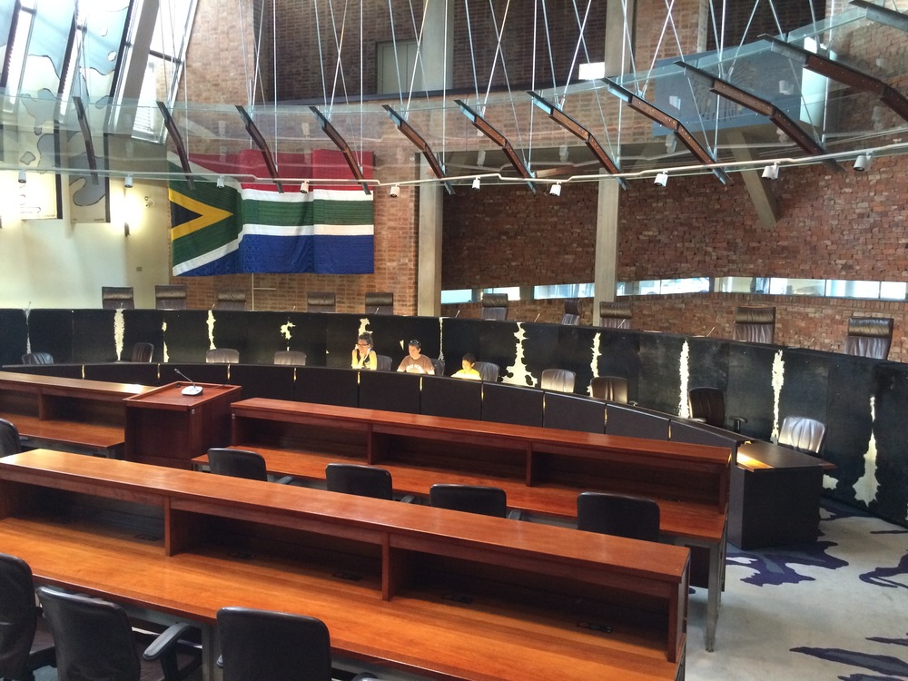Us at the SA Constitutional Court
