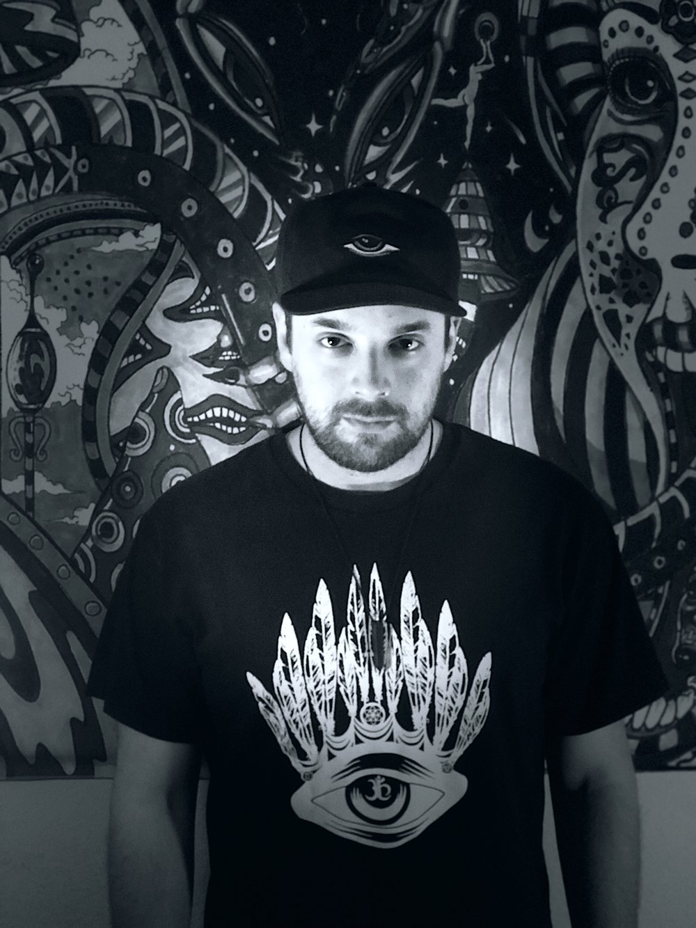 """ADVI(Jacob Holguin) - Chief / Founder                                           IG/Twitter: @djadviJacob Holguin aka ADVI is a Los Angeles based DJ/Producer born on January 1, 1986. ADVI is pronounced """"86."""" Born and raised on the East Coast in Connecticut- Jacob became heavily influenced by electronic music at the young age of 9. Since then, Jacob moved to Los Angeles, CA- dedicated his life to creating and expressing himself through music and runs an Awake & Conscious Art/ DJ Collective called the """"3rd Eye Tribe.""""ADVI is a familiar name in the LA Underground scene. He began DJing events in 2012 and can most commonly be seen playing sets at Avalon & Los Globos After hours aside from a slew of regular """"Secret Location"""" Warehouse Events. Some of ADVI's biggest influences include; Pete Tong, Carl Cox, Mark Knight & Eric Prydz. ADVI's sound can be described as dark, groovy, hypnotic & melodic. ADVI is also a resident DJ for the popular- Modern Disco Ambassadors and Lab Sessions on Subliminal Radio. If you don't get a chance to make it out to one of his shows, ADVI is aired globally through his Lab Sessions Residency with Subliminal Radio on the last Friday of every month."""
