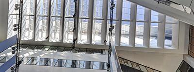 CONSEIL GENERAL GIRONDE - Hall avec exposition Métiers