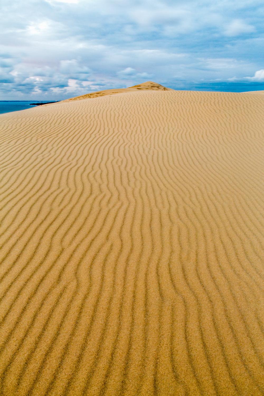 Lignes sur la dune du Pilat-B4