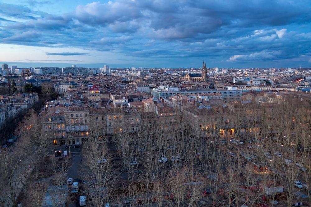 Vue de Bordeaux et des Chartrons N° B14