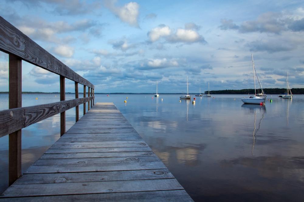 Le ponton-Lac de Lacanau n° L8