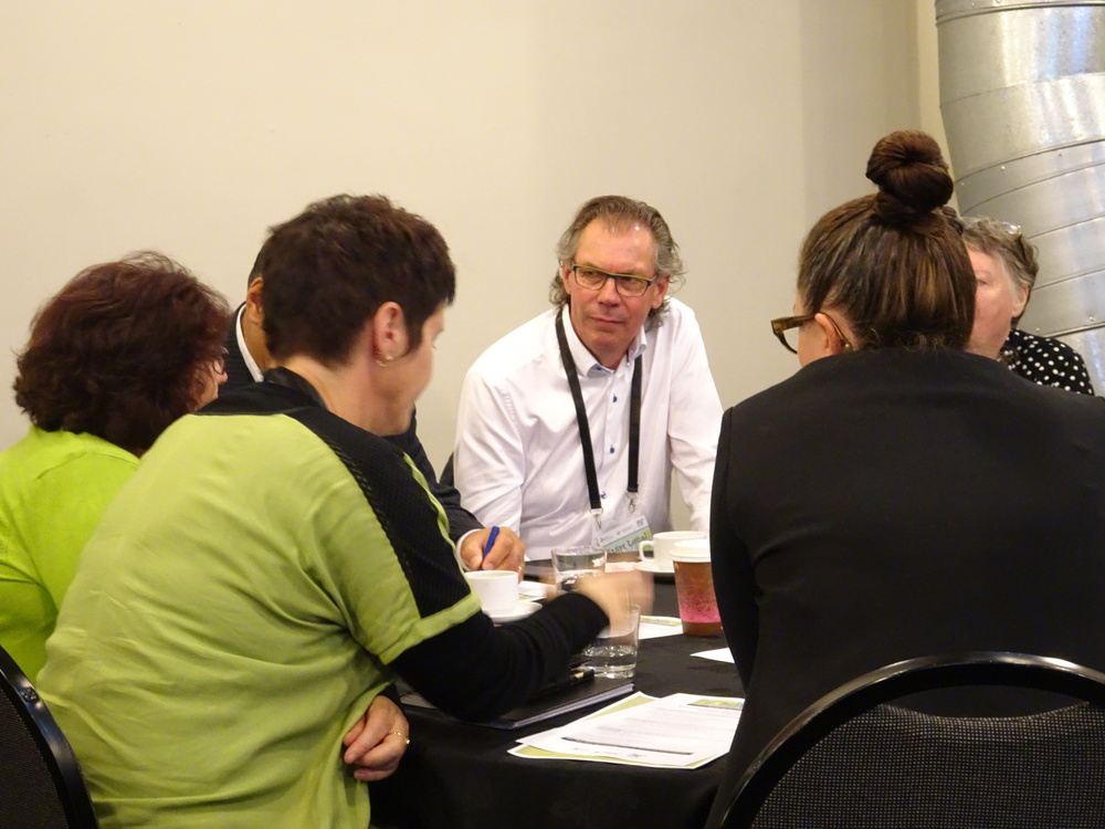 John  at a recent conference in Wellington concerned with community resilience.