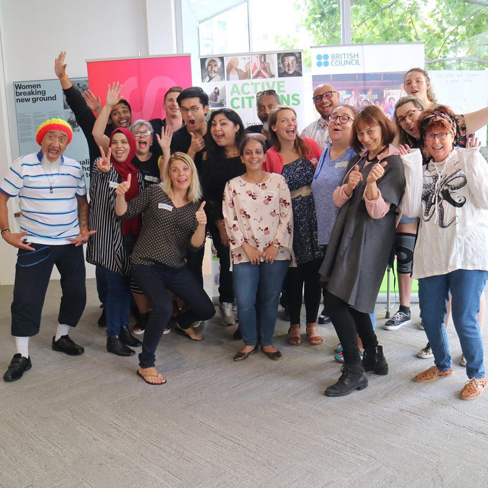 Active Citizens Auckland course participants March 23rd 2018