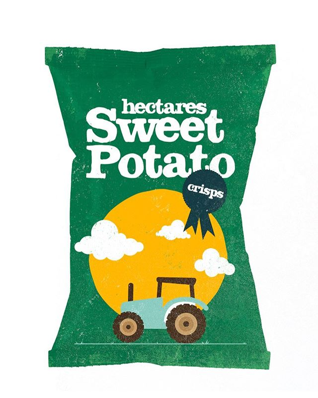 #throwback to our first ever packaging design! #sweetpotato #sweetpotatocrisps #design #packaging #healthysnack