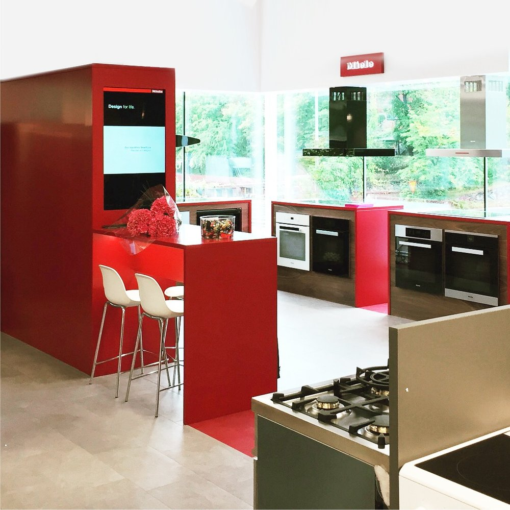 Miele showroom design