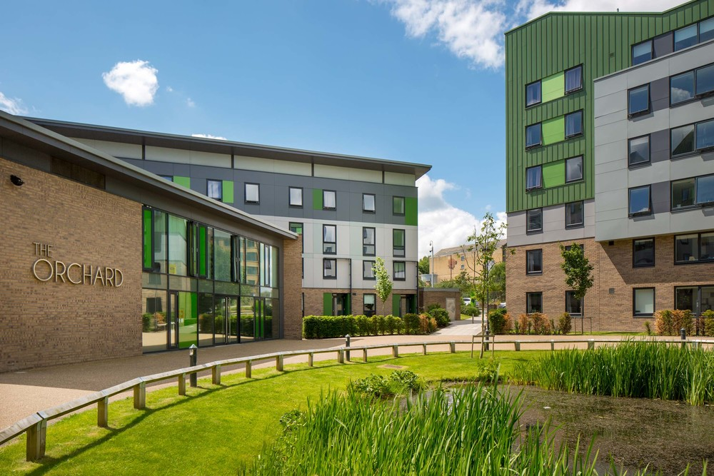 The Green - eco-friendly student accommodation, Bradford