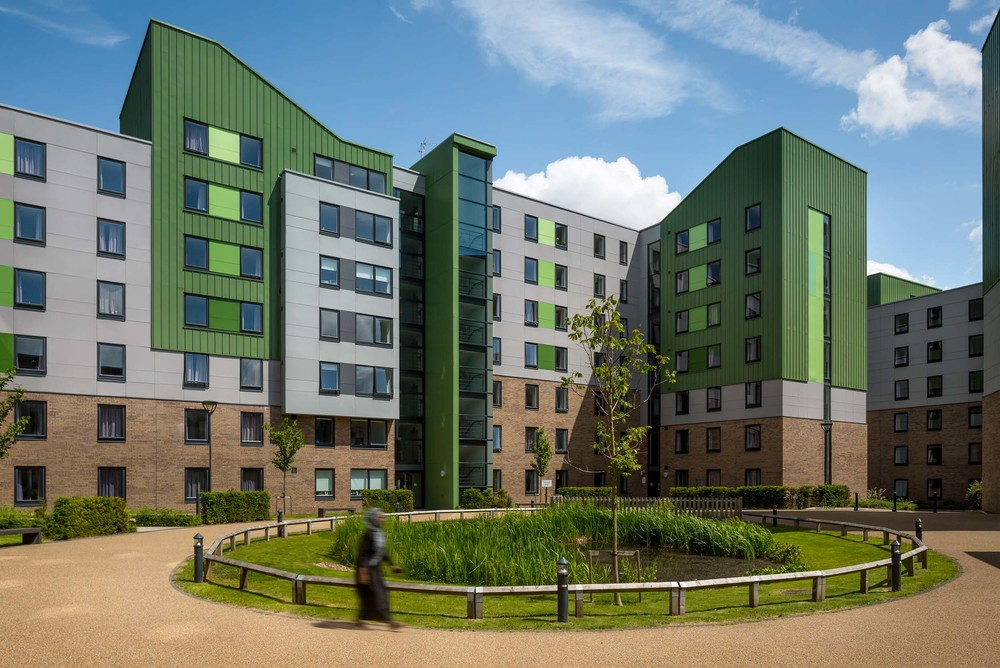 Architectural Exterior Daytime Student Accomodatoin The Green Bradford