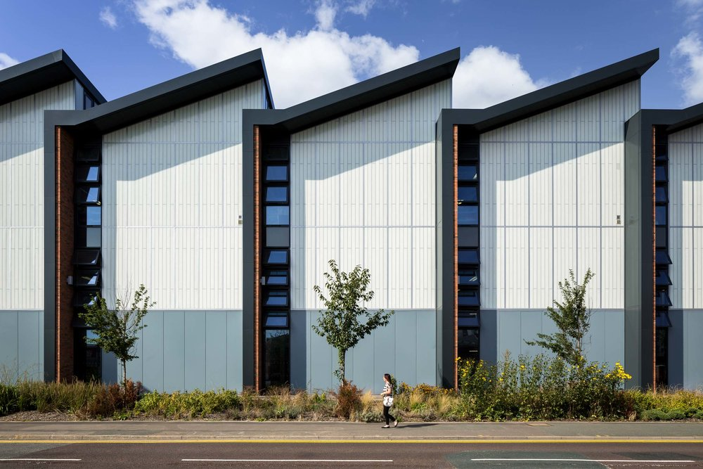 leeds college of building workshop exterior one point perspective daytime west yorkshire england.jpg