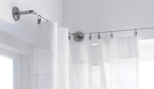 dokonal z v sy a z clony versus hadr na okn ambience. Black Bedroom Furniture Sets. Home Design Ideas