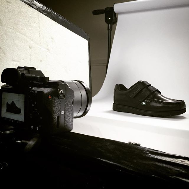 Whilst everyone finishes school, we're already thinking about going back! #wynsorsworldofshoes #backtoschool #shoot #studio #media #manchester #sonya7s