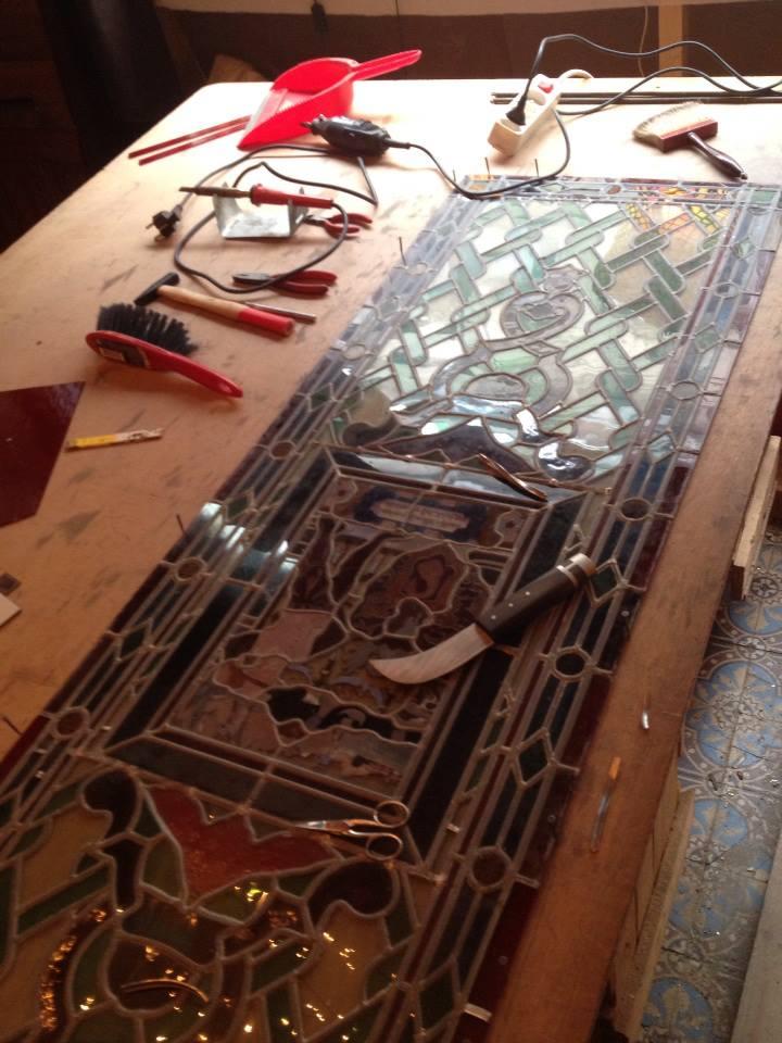 Restauration Vitrail Atelier Vitraux Flores