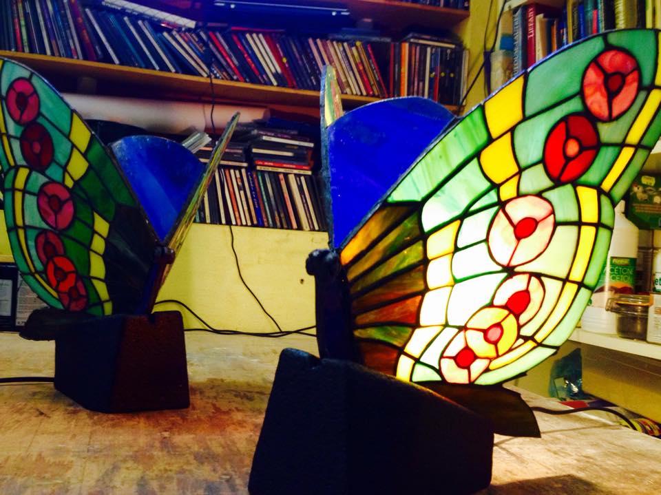 Tiffany et objet création Atelier Vitraux Flores