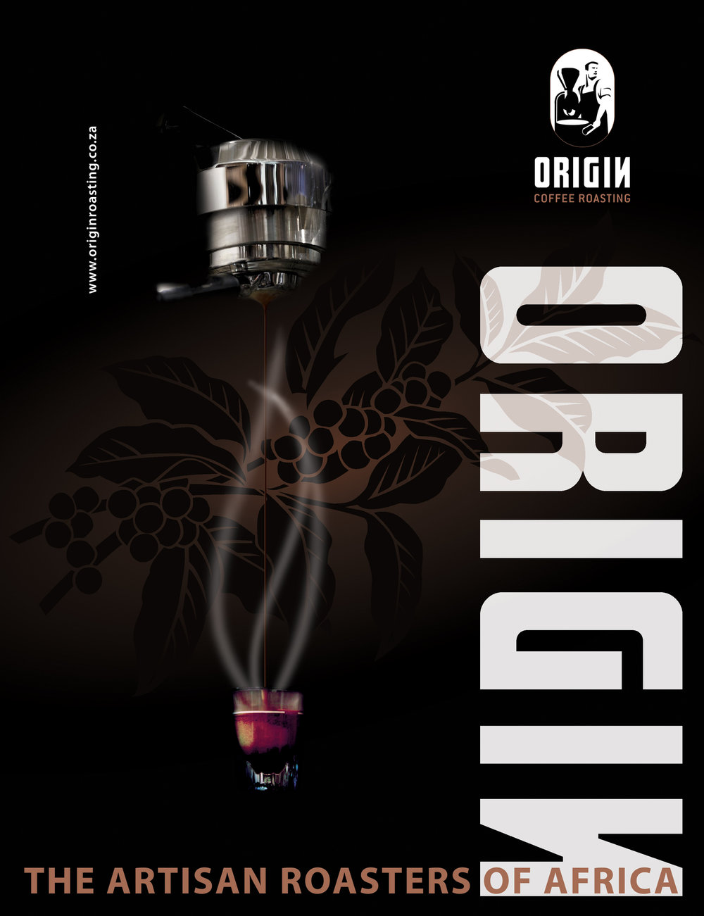 Commercial ads - As I was an intern i South Africa i made various of ads for Origin coffee company.