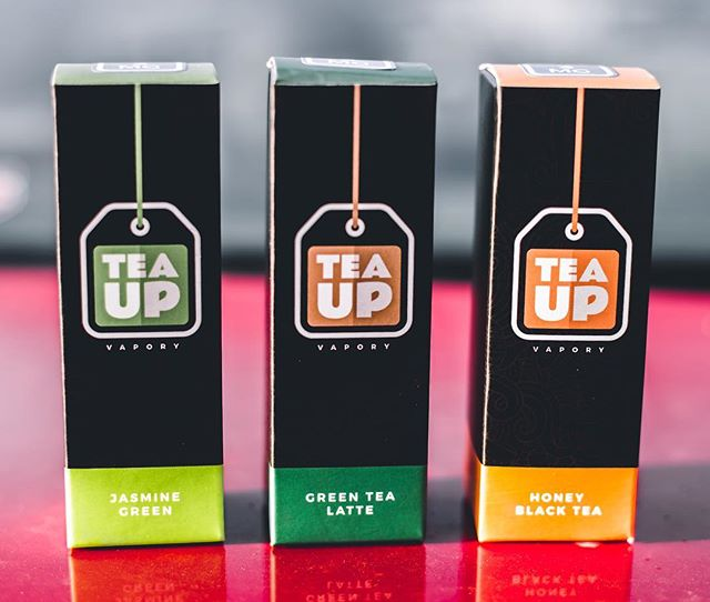All new Tea Up Vapory now available! If you've never had a legit tea flavor, we promise ours is spot on to the drink! ----------- #JASMINEGREENTEA #HONEYBLACKTEA #GREENTEALATTE #teaup #teatime #vapecommunity #vapestagram #ejuice #eliquid #fittea #teahouse #vapetea #calivapers #vapeporn #vapehooligans #ecig #vape #vapelife #vapelyfe #socalvapers #unitedvapers #vapegiveaway #cloudchaser #worldwidevapers #vapefam #tealovers #dripclub
