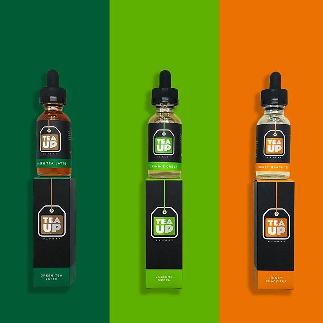 All new Tea Up Vapory now available! If you've never had a legit tea flavor, we promise ours is spot on to the drink! ------------ •Green Tea Latte •Jasmine Green Tea •Honey Black Tea ----------- #JASMINEGREENTEA #HONEYBLACKTEA #GREENTEALATTE #teaup #teatime #vapecommunity #vapestagram #ejuice #eliquid #fittea #teahouse #vapetea #calivapers #vapeporn #vapehooligans #ecig #vape #vapelife #vapelyfe #socalvapers #unitedvapers #vapegiveaway #cloudchaser #worldwidevapers #vapefam #tealovers #dripclub