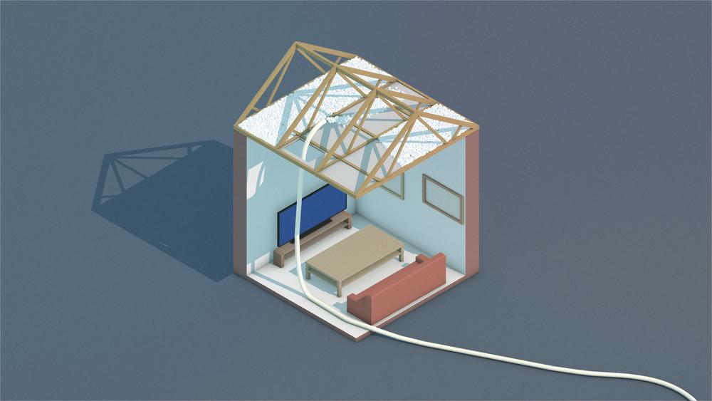 Blåseisolering gir et bedre resultat. Isolasjonen fyller rundt alle krinker og kroker som for eksempel elektriske komponenter, vvs, ventilasjon, kubbinger og lignende