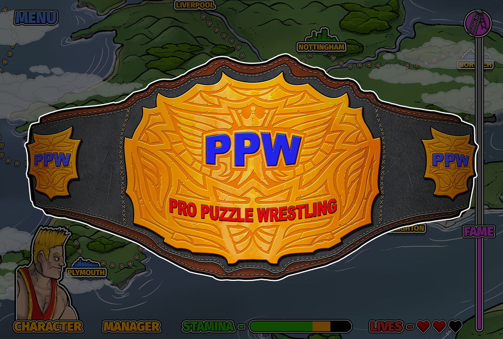 New PPW hand painted Logo