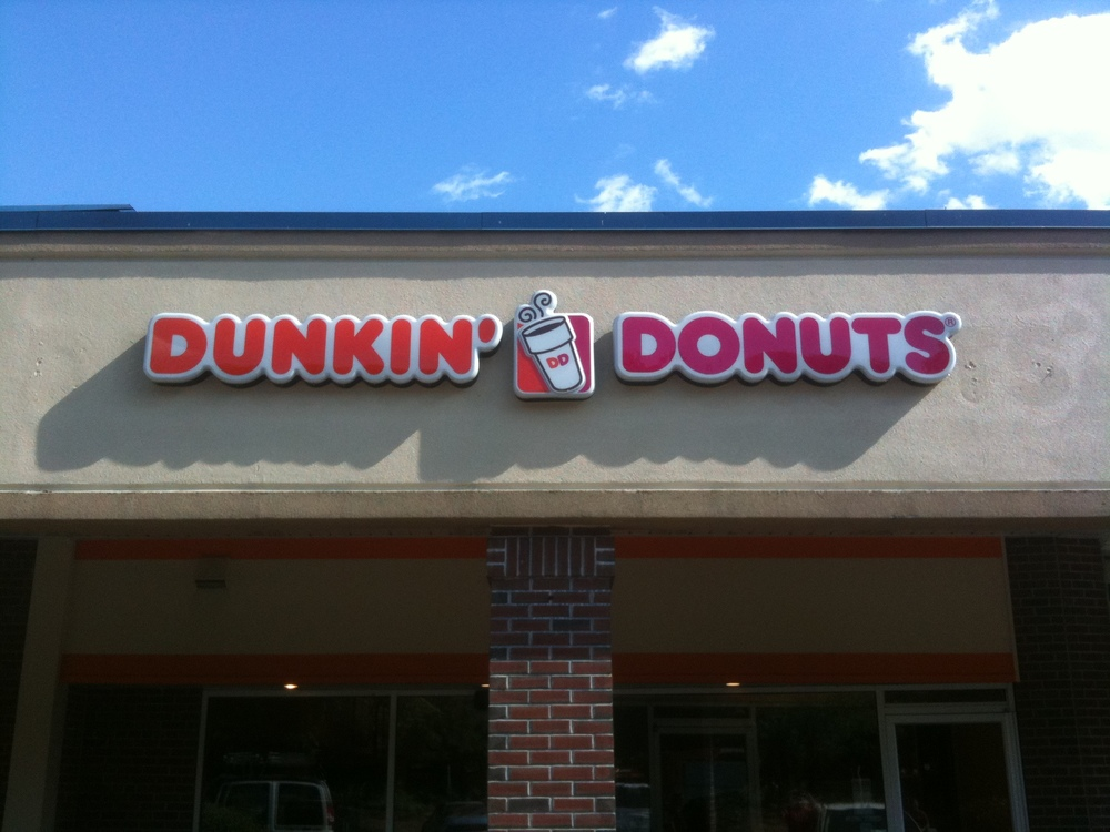 Dunkin Donuts Building Sign.JPG