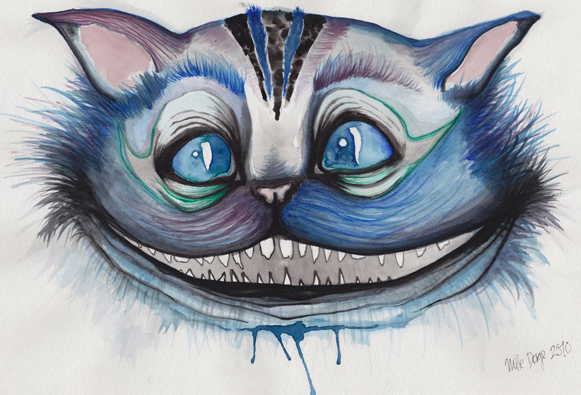 Cheshire Cat illustration
