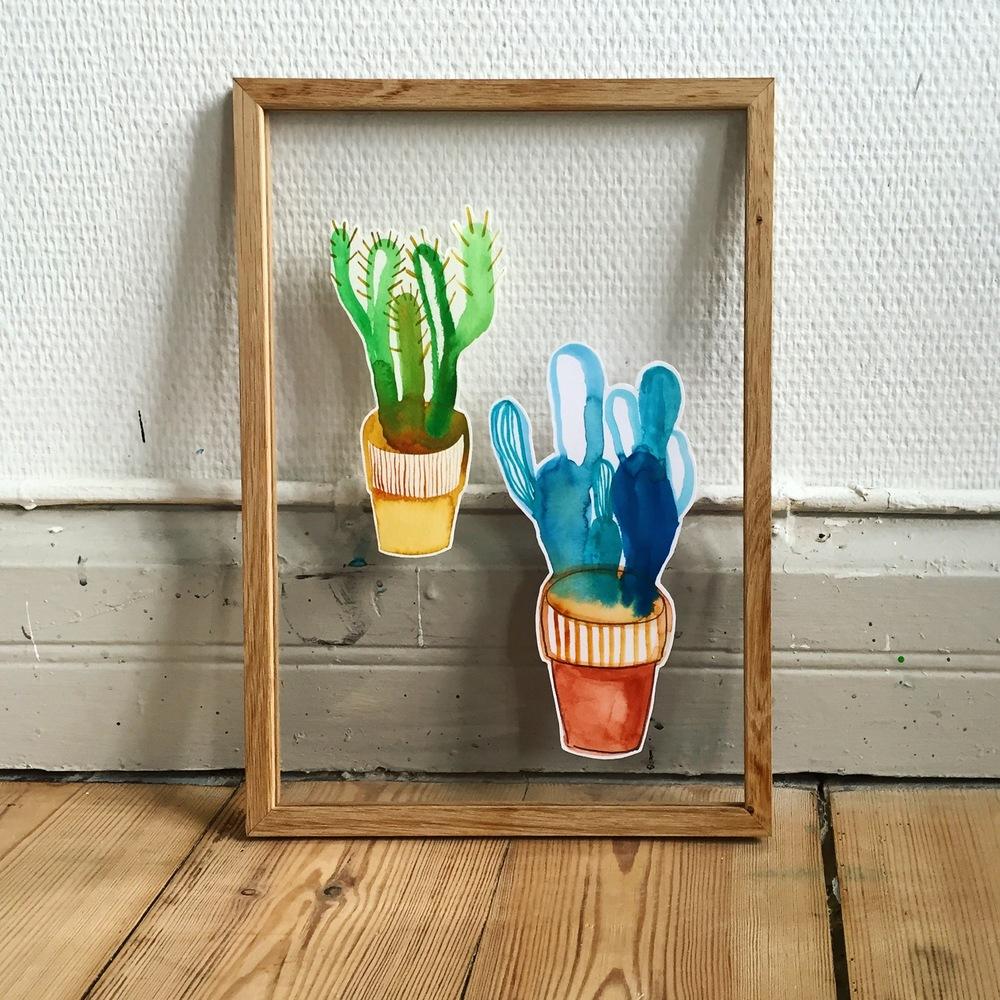 Floating cacti pt. II