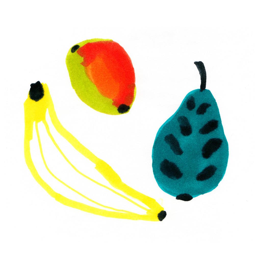 Plate design - fruit