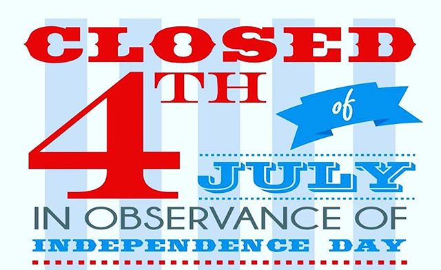 Our store will be closed on Sunday, July 3rd and Monday, July 4th!  Have a safe and fun holiday! -Organic GreenFix