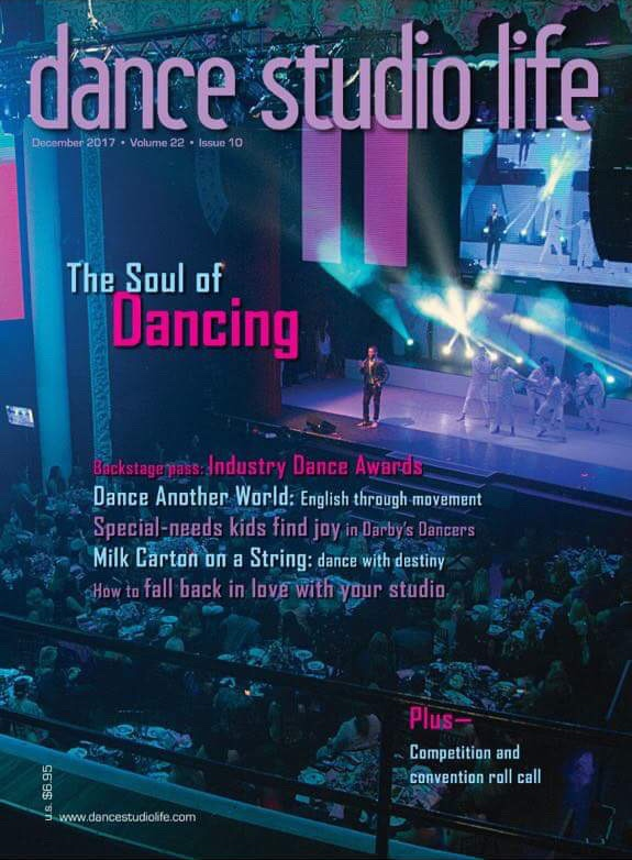 featured in dance studio life - Milk Carton on a String is so excited to be featured in the December 2017 issue of Dance Studio Life!