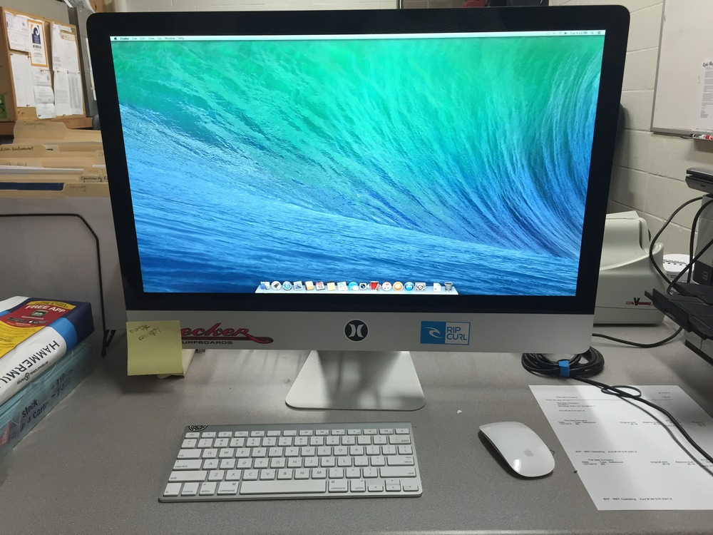 A donated iMac