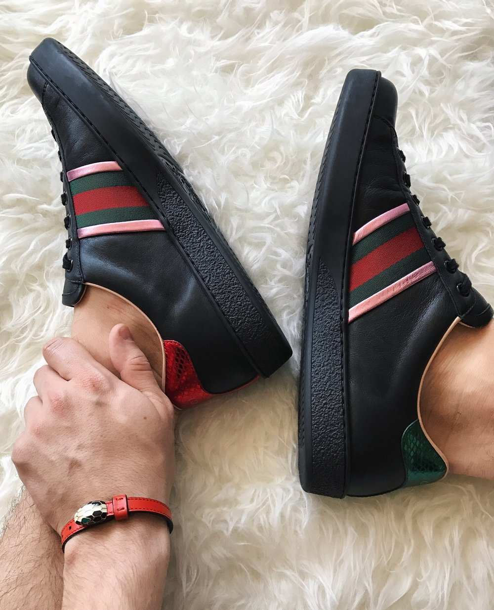 12fa5ff76 I think we've all established by now that I'm a sneakerhead, but a  sneakerhead with Gucci fever is something of its own calibre. Since last  fall I have been ...