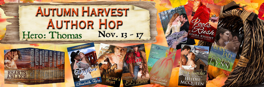 Autumn Harvest Author Hop – Hearts Ablaze