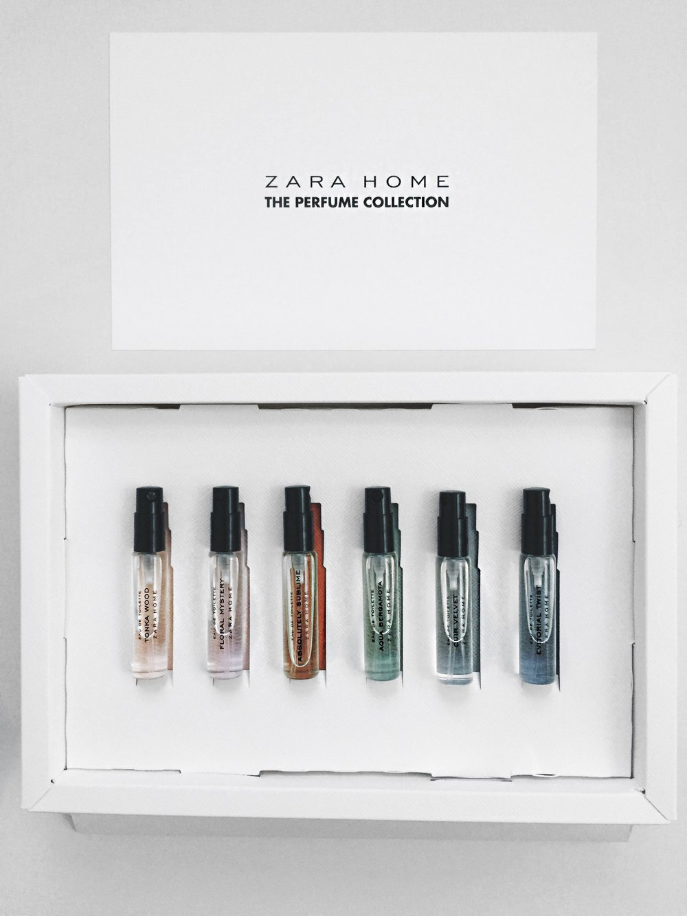 Zara Home The Perfume Collection Mr Luke Christian Uk Based