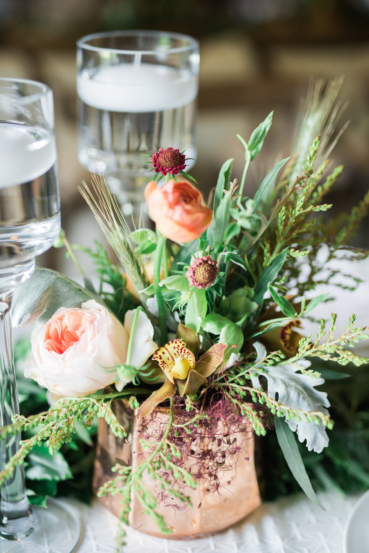 Parie Designs, copper wedding florals, wedding coordination Amarillo Tx