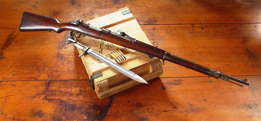 K98 Mauser rifle
