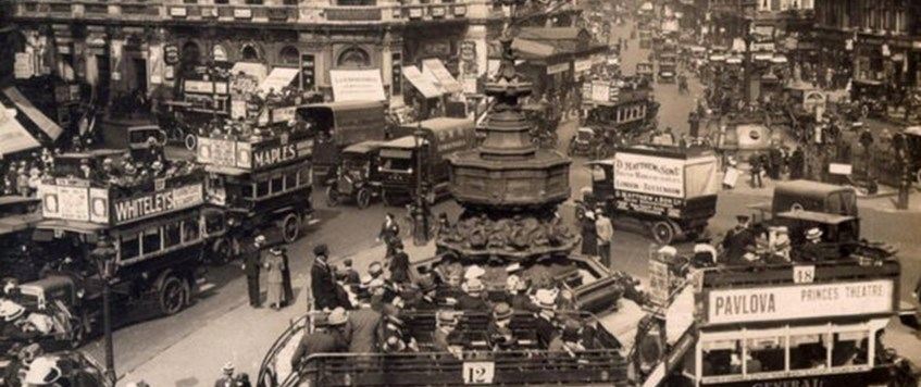 Piccadilly during the War