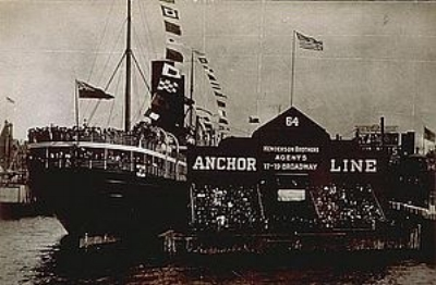 S.S. California in 1907.