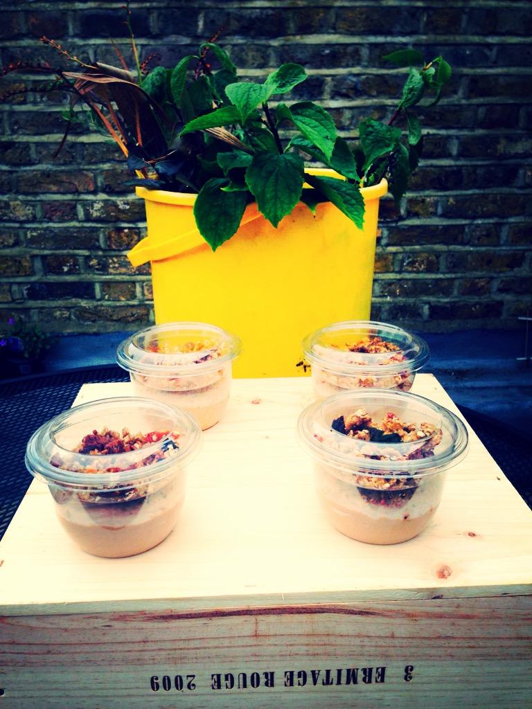 Banana & Strawberry Hummus